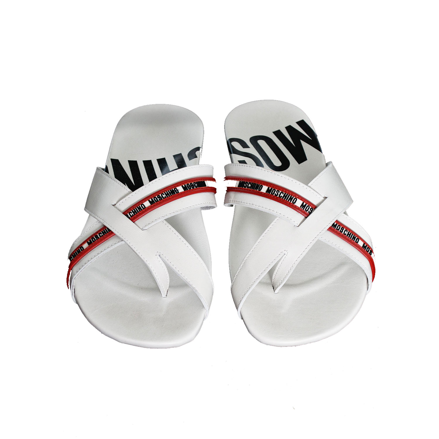 579c6bbc6860 ... Moschino-Slippers--Right-View-(Red-and-Black) ...